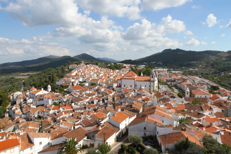 View over Castelo de Vide, Portugal