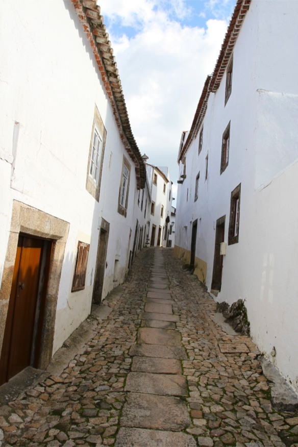 Street in Marvao, Portugal