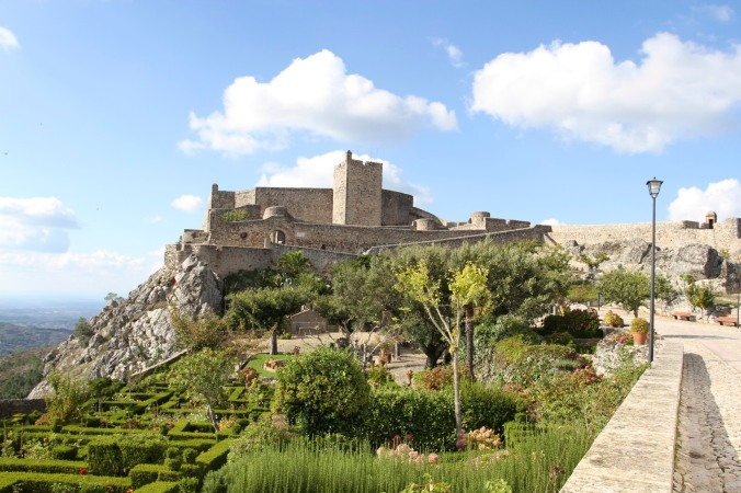 The castle of Marvão, Portugal