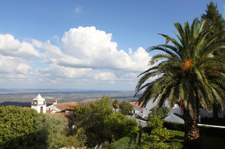 The view from Marvão, Portugal