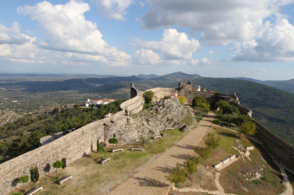 The castle in Marvão, Portugal