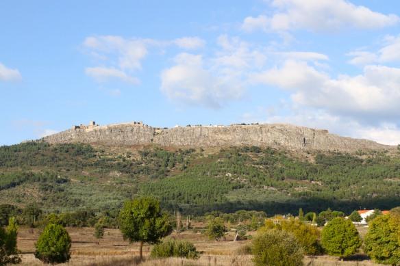 Marvão seen from the plain below, Portugal