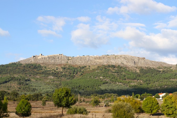 Marvão seen from the plain below, Portugal