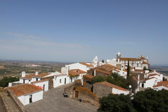 View over Reguengos de Monsaraz, Portugal