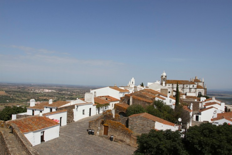 View over Reguengos de Monsaraz, Portugal