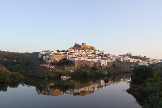 View of Mertola, Portugal