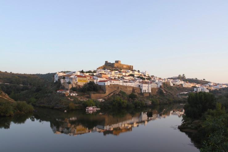 View of Mertola, Portugal