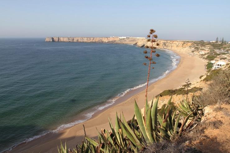 Beach at Sagres, Portugal