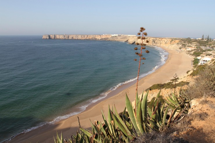 Beach at Sagres, Portugal