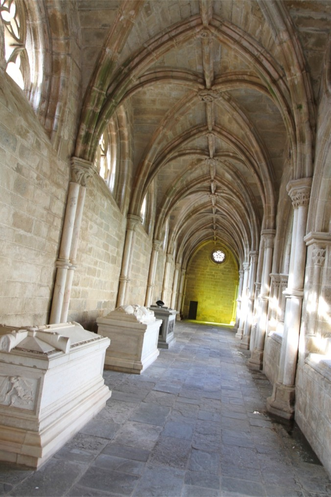 Cloisters, Évora Cathedral, Portugal
