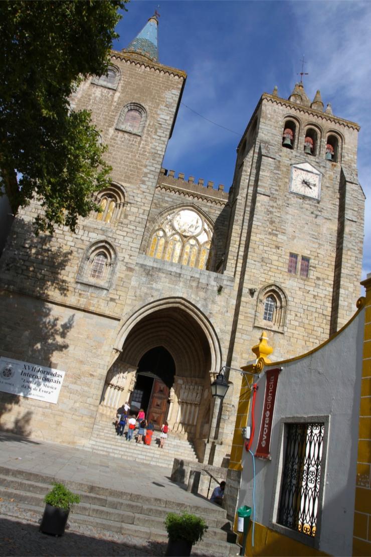 Evora Cathedral, Evora, Portugal