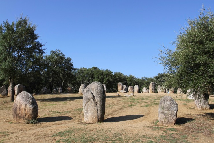 Cromeleque dos Almendres, Evora, Portugal