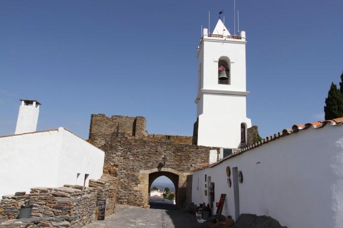 Hill top village of Monsaraz, Portugal