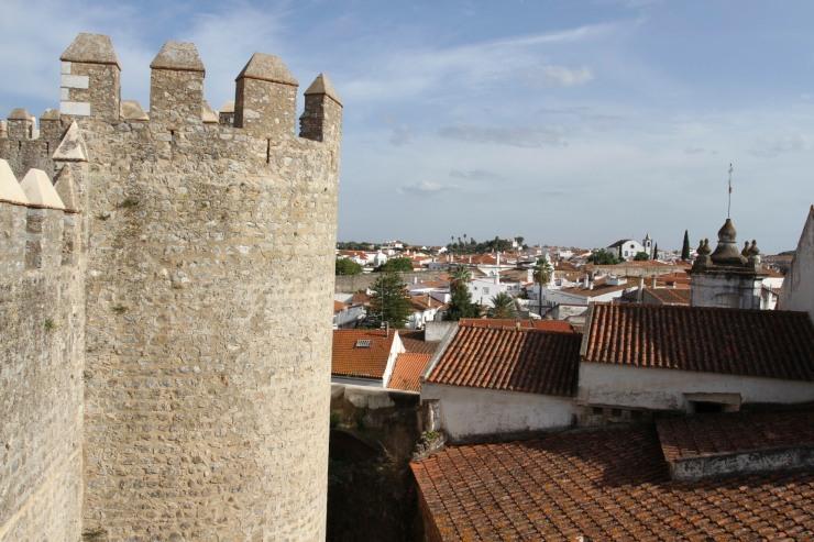 Castle, Serpa, Alentejo, Portugal