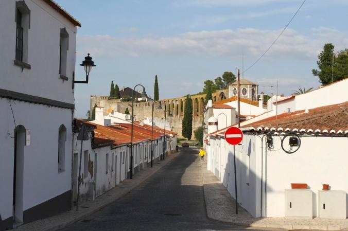 Aqueduct, Serpa, Alentejo, Portugal