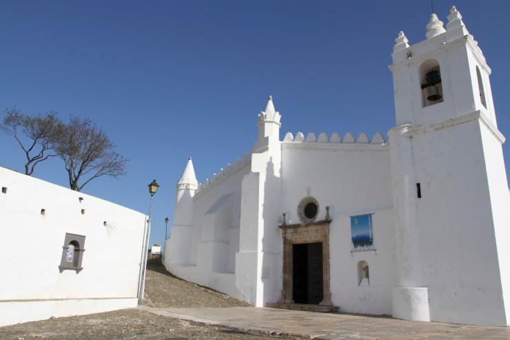 Igreja Matriz, Mertola, Alentejo, Portugal