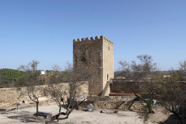The castle, Mertola, Alentejo, Portugal