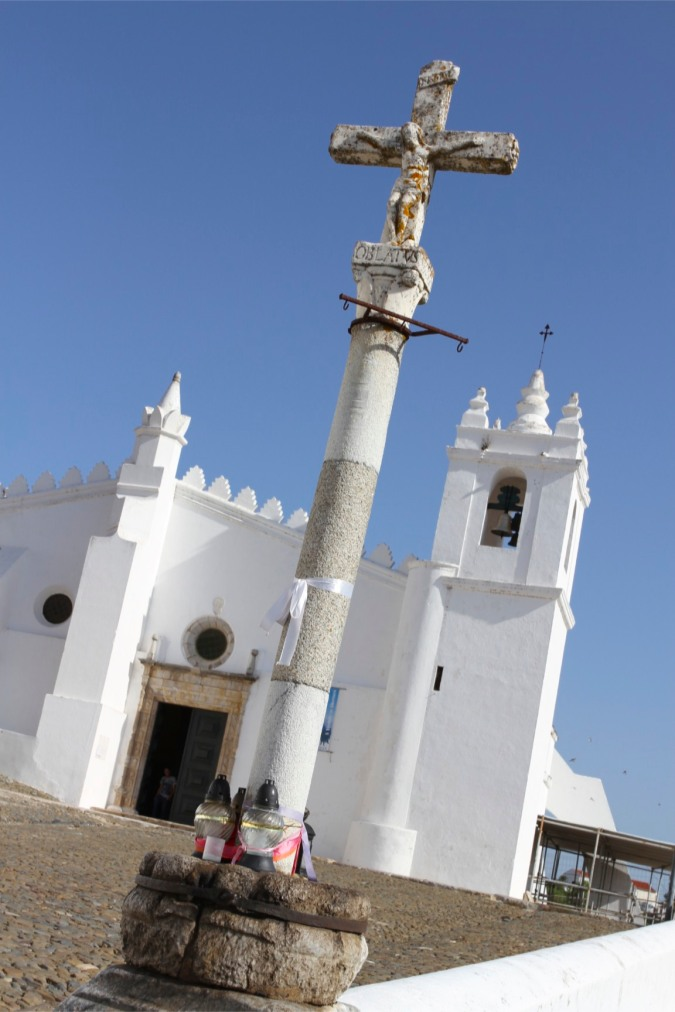 The church that was a mosque, Mertola, Alentejo, Portugal