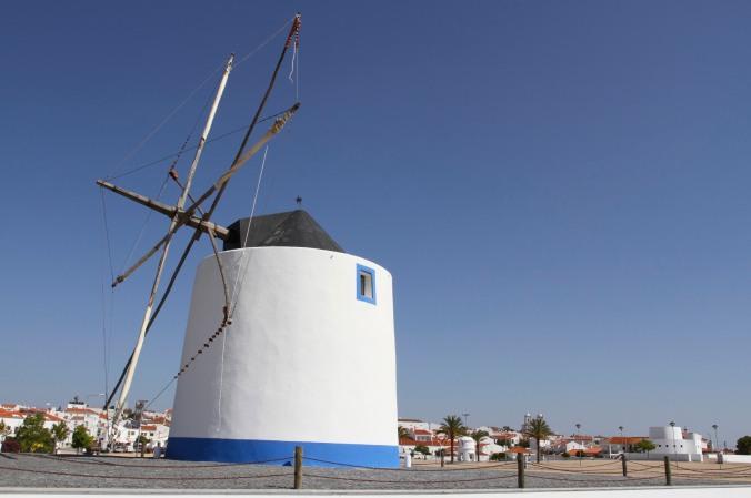 Windmill, Castro Verde, Portugal