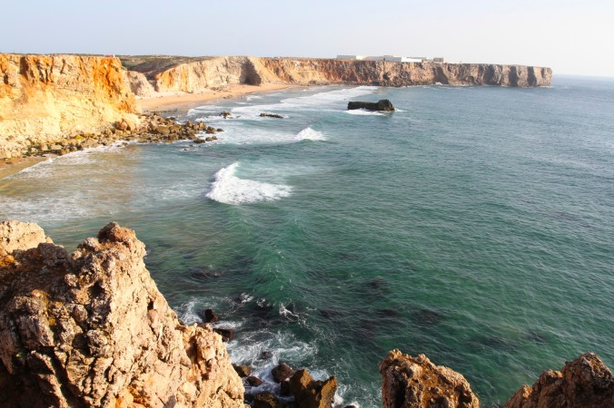 Coastline near Sagres, Portugal