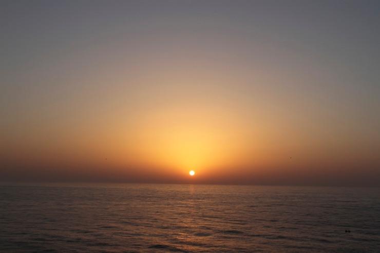 Sunset at Cabo de Sao Verde, Algarve, Portugal