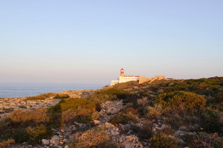 Sunrise at Cabo de Sao Verde, Algarve, Portugal