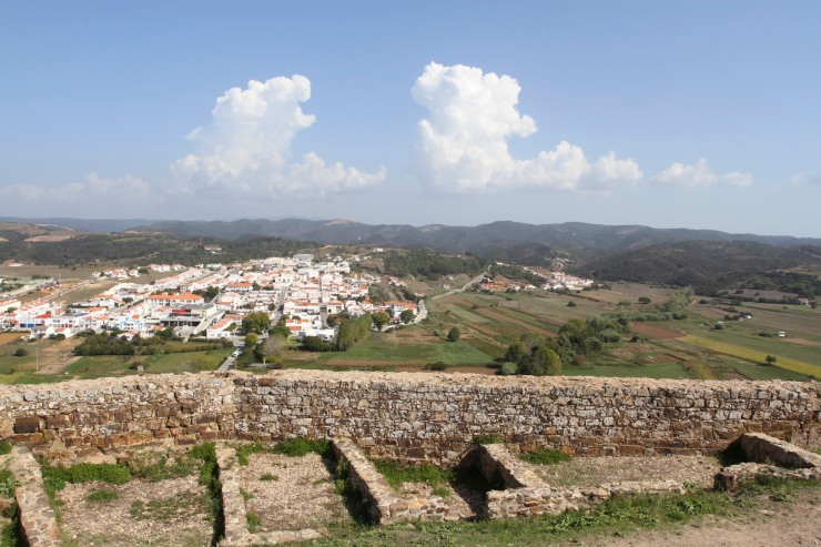 Views from the castle, Aljezur, Algarve, Portugal