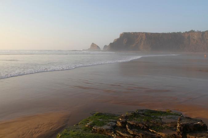 Praia de Odeceixe, Algarve, Portugal