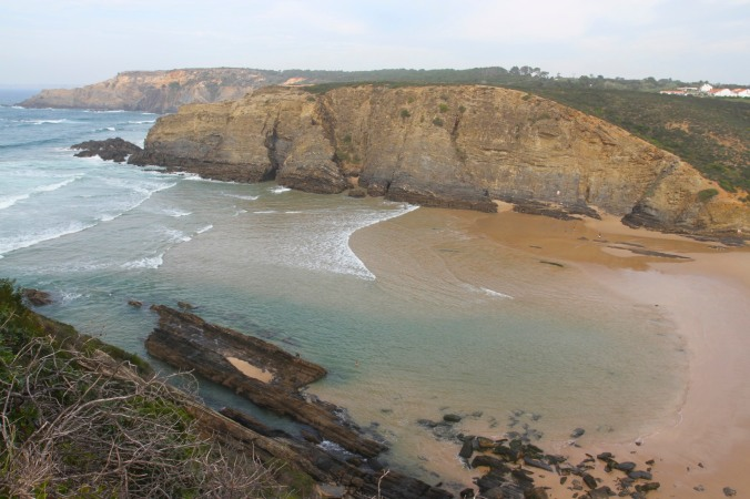 Coastline near Praia do Carvalhal, Alentejo, Portugal