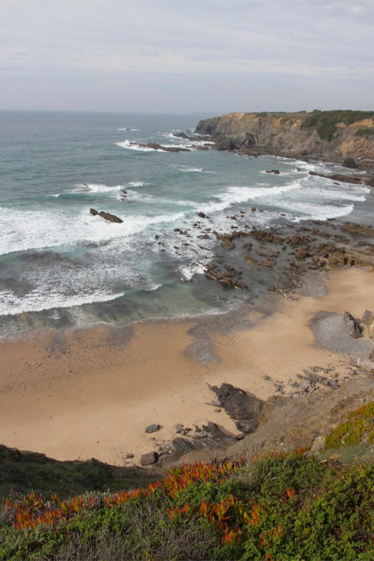 Coastline near Praia do Carvalhal, Alentejo, Portugal