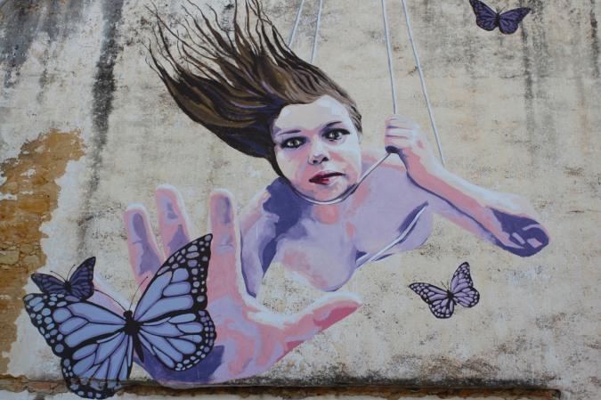 Street art, Sesimbra, Portugal