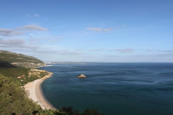 Coastline near Sesimbra, Portugal