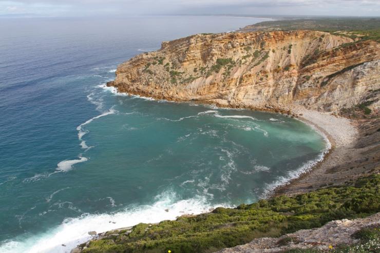 Coastline at Cabo Espichel, Portugal