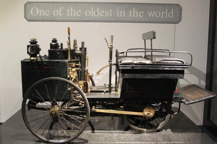 De Dion Bouton Steam Quadricycle, Louwman Museum, The Hague, Netherlands