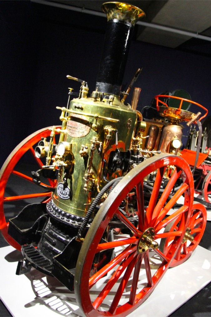 Steam vehicle, Louwman Museum, The Hague, Netherlands