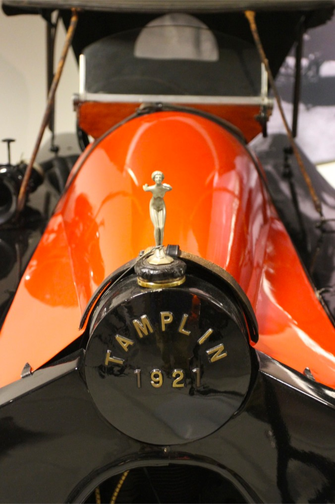 1921 Tamplin Cycle Car, Louwman Museum, The Hague, Netherlands