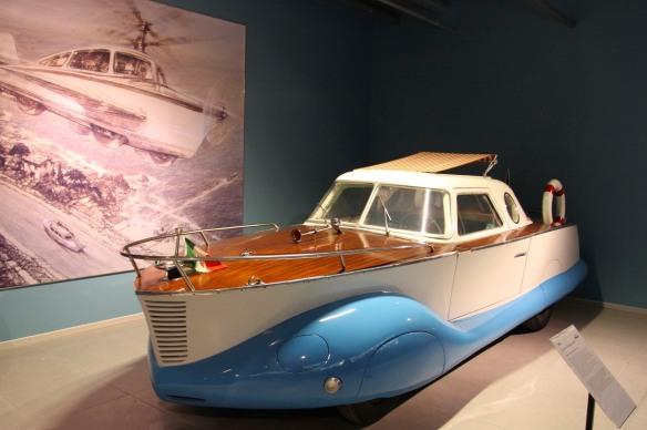 1953 Fiat Boat Car, Louwman Museum, The Hague, Netherlands
