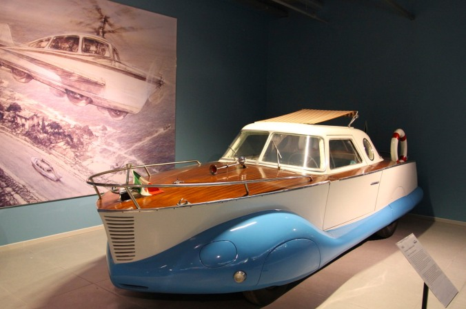 1953 Fiat Boat Car, Louwman Museum, The Hague, Netherlands