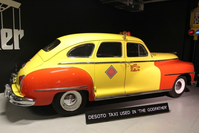 DeSoto Taxi from The Godfather, Louwman Museum, The Hague, Netherlands