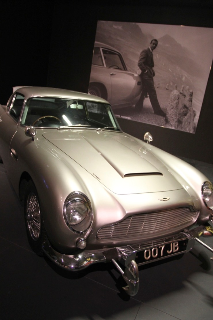 Aston Martin DB5, Louwman Museum, The Hague, Netherlands
