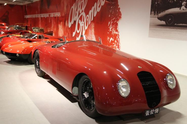 Alfa Romeo Spider Corsa Sperimentale Balena, Louwman Museum, The Hague, Netherlands