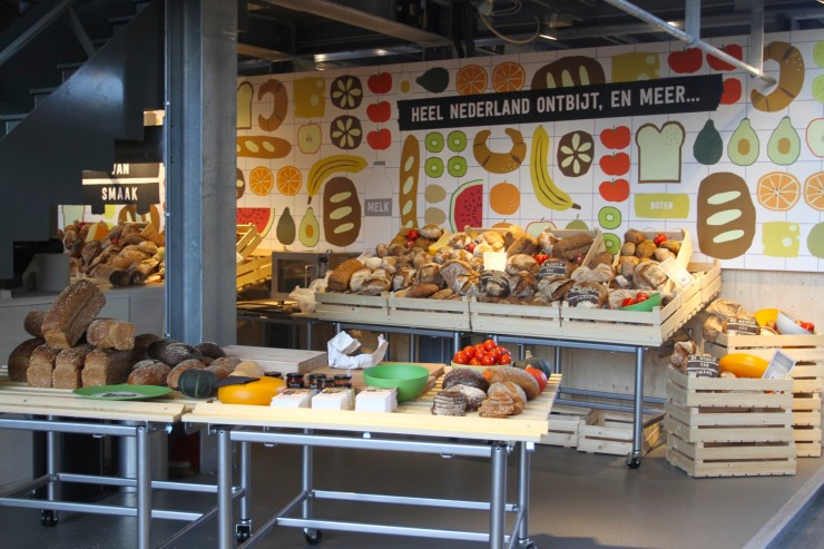 Markthal, the new Market Hall, Rotterdam, Netherlands