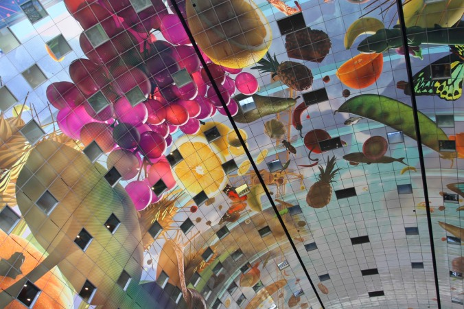 Markthal, the new Market Hall, Rotterdam, Netherlands