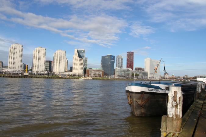 Nieuwe Maas, Rotterdam, Netherlands