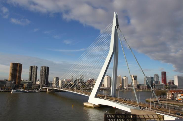 Erasmusbrug, Rotterdam, Netherlands
