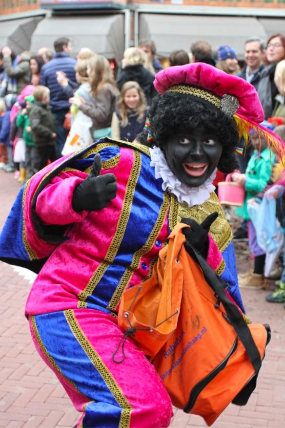 Zwarte Pete and Sintaklaas parade, The Hague, Netherlands