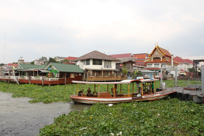 Boats on the Chao Phraya, Bangkok, Thailand