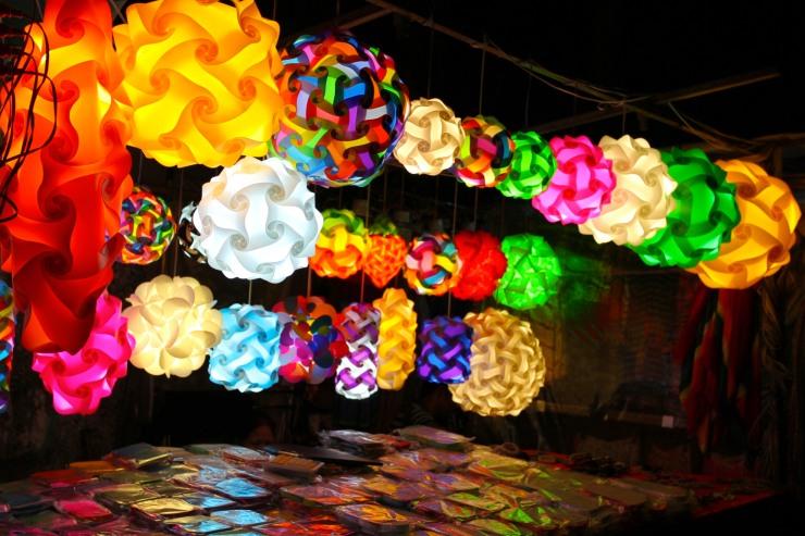 Lights, Bangkok, Thailand