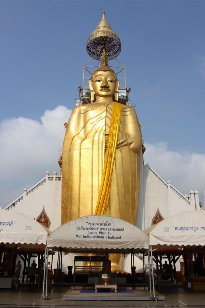 Massive Buddha, Bangkok, Thailand