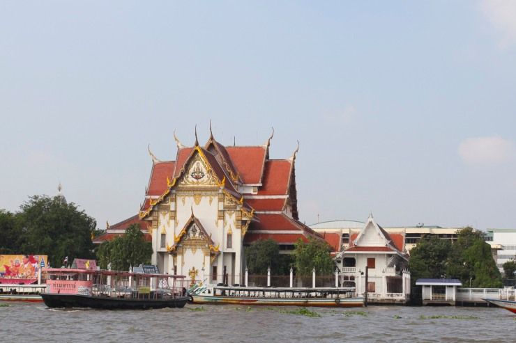 Temple Chao Phraya, Bangkok, Thailand
